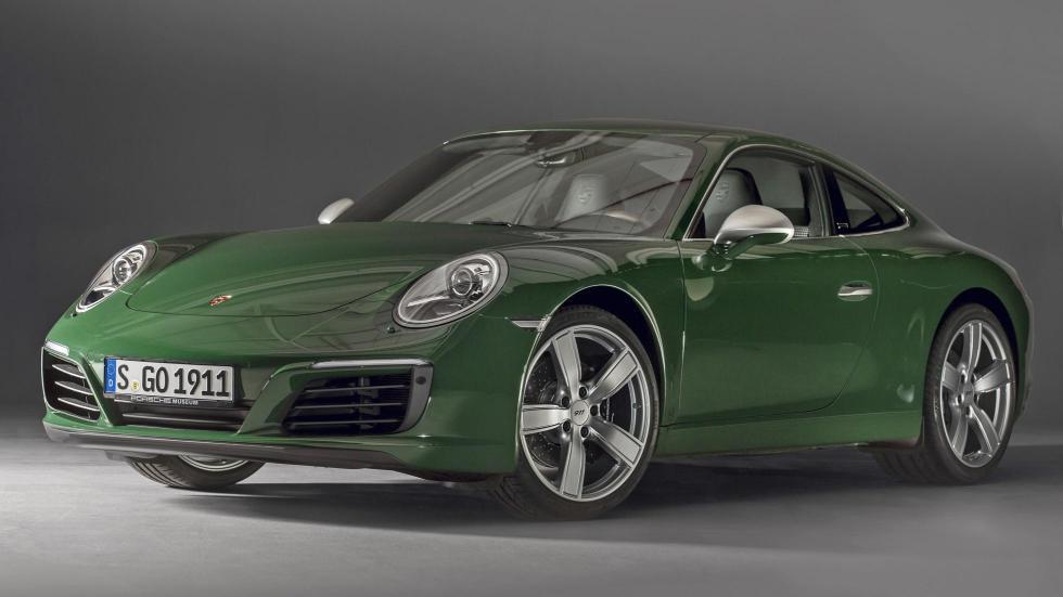 Porsche 911 un millón 1 verde fabrica