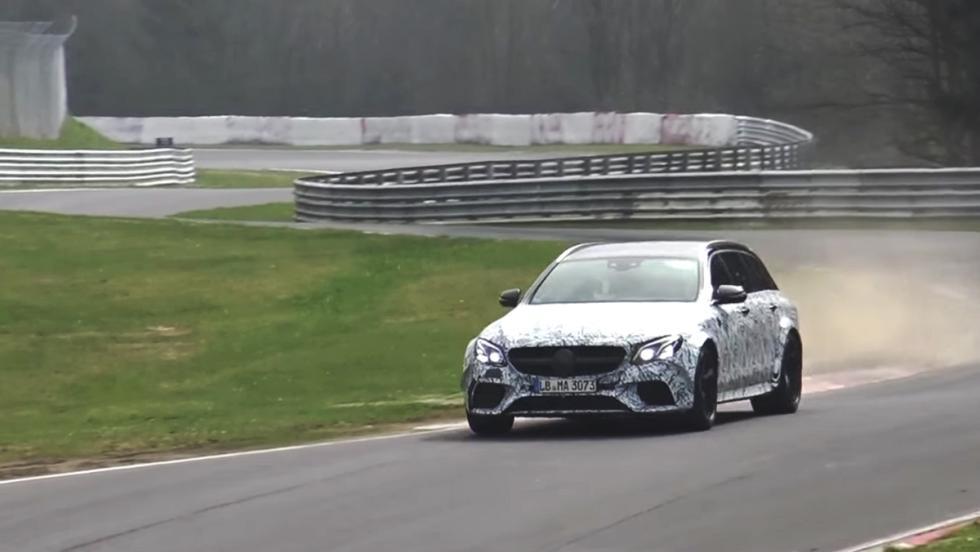 ¿Prepara Mercedes-AMG un E63 aún más brutal?