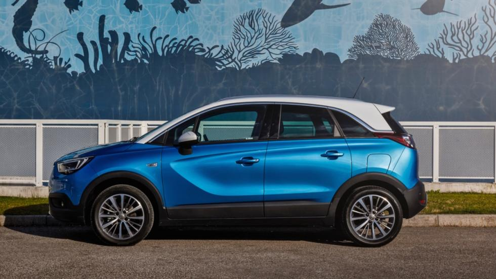 Prueba Opel Crossland X (lateral)