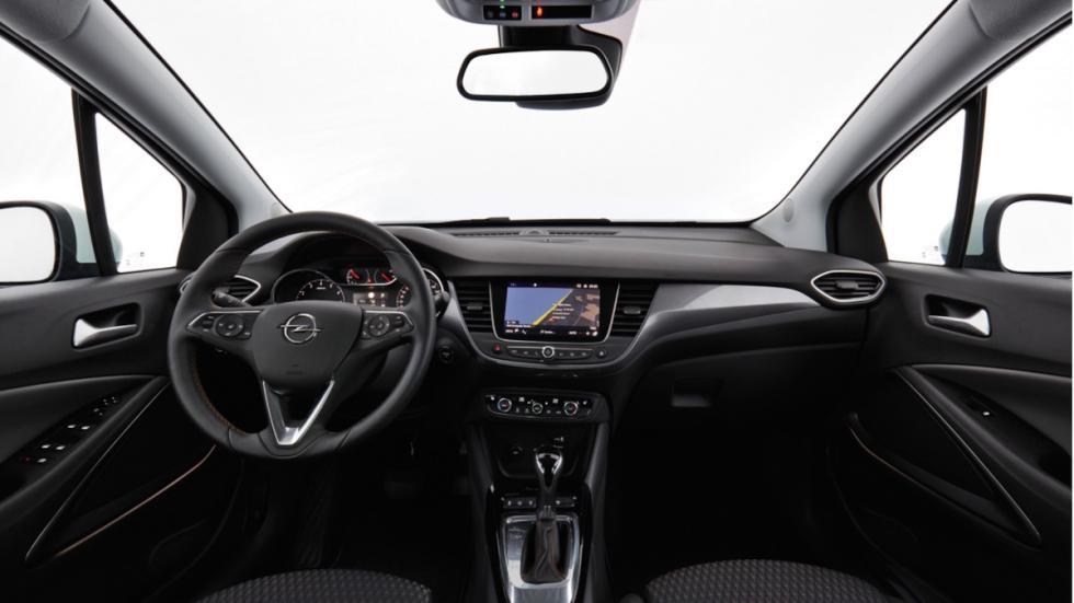Prueba Opel Crossland X (interior)