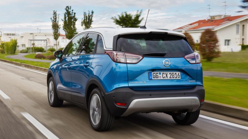 Prueba Opel Crossland X (trasera)