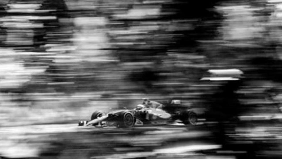 Raikkonen pilotando un Ferrari F1