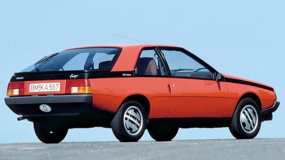 Renault Fuego coupé clásico frances