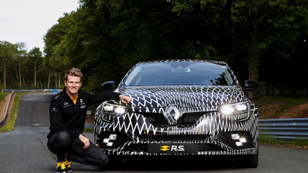 Renault Megane R.S con Nico Hülkenberg