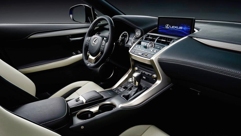 Los rivales del Jaguar F-Pace - Lexus NX