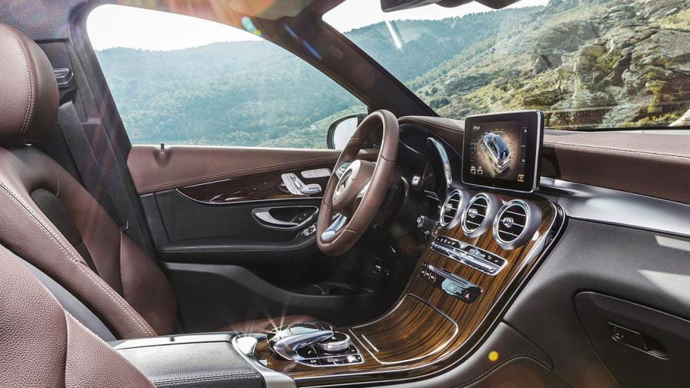 Los rivales del Jaguar F-Pace - Mercedes-Benz GLC