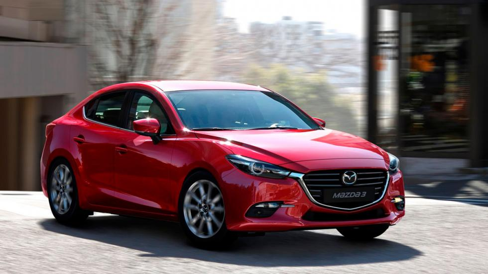 Rivales Mercedes Clase A Concept: Mazda3 SportSedán (I)