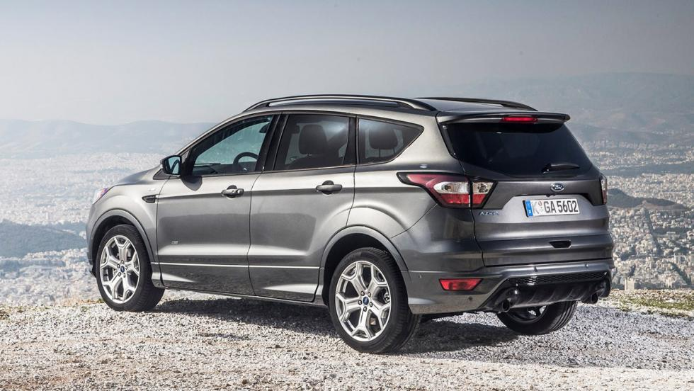 Los rivales del Seat Ateca FR - Ford Kuga ST Line