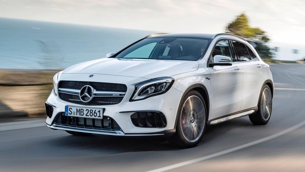 Los rivales del Seat Ateca FR - Mercedes-AMG GLA 45