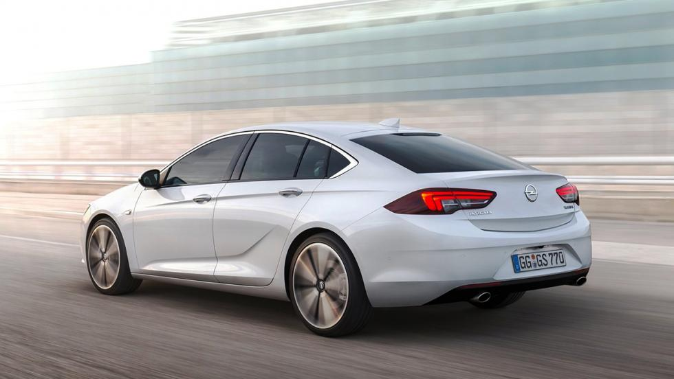 Rivales del Skoda Superb 2017 - Opel Insignia Grand Sport
