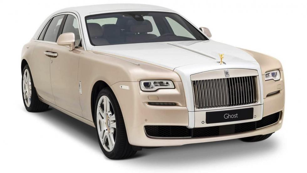 Rolls-Royce Ghost by Ancient Trade Routes