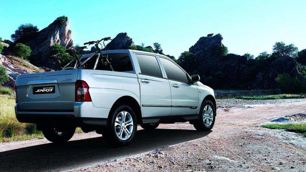 SsangYong Actyons Sport (II)