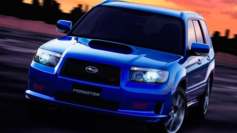 Subaru Forester STI (I)