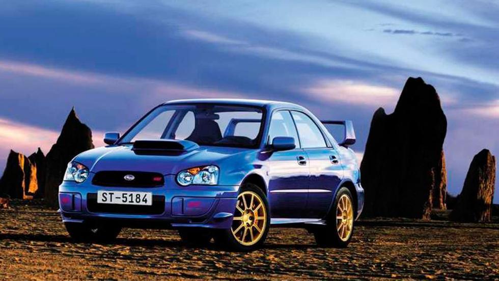 Subaru Impreza WRX STI (I)
