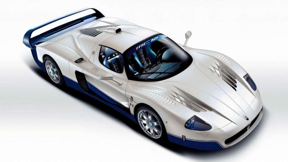 Superdeportivos: Maserati MC12 (I)