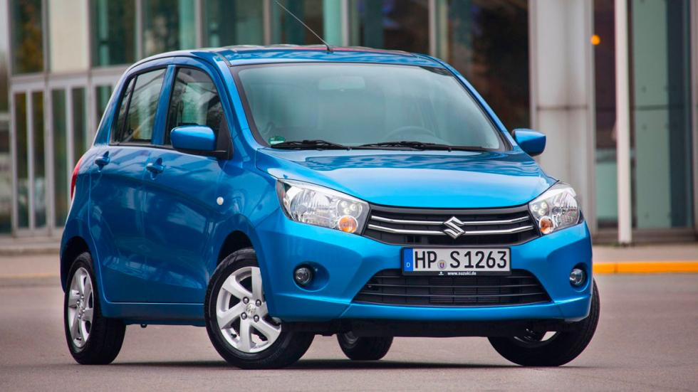 Suzuki Celerio utilitario ciudad espacio