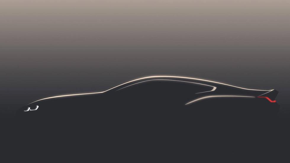 Teaser BMW Serie 8 2018 concept prototipo