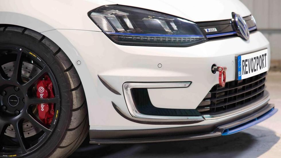 El Volkswagen Golf eléctrico de carreras que necesitas
