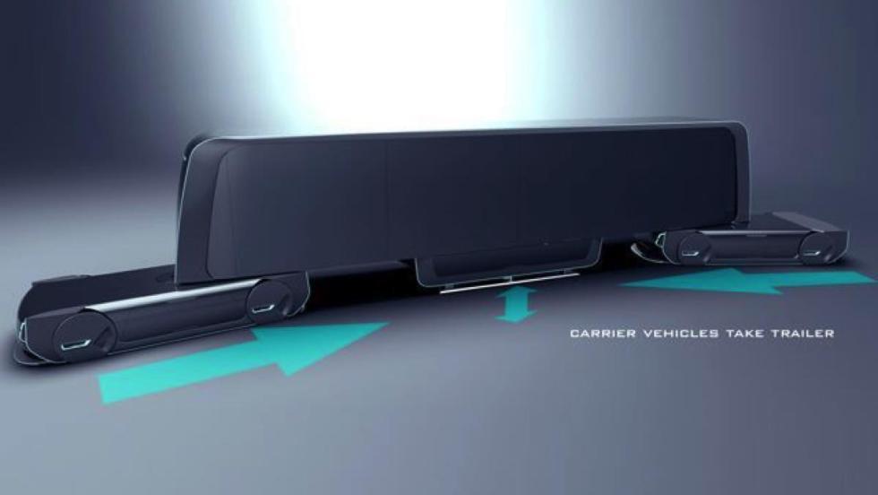 Volvo Autonomous Carrier trailer