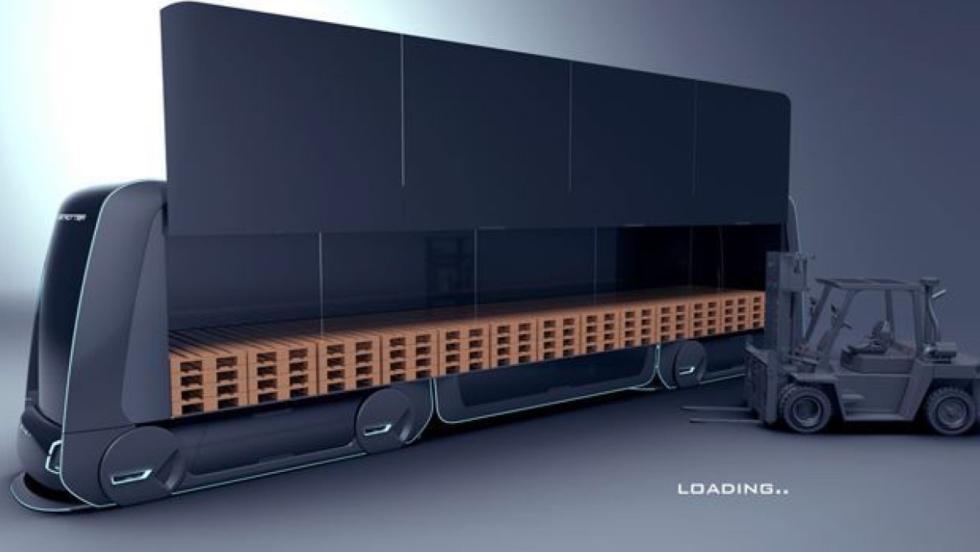 Volvo Autonomous Carrier almacenaje