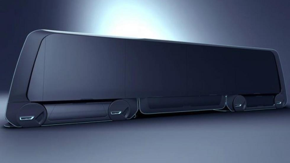 Volvo Autonomous Carrier lateral