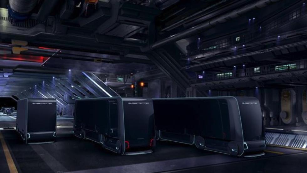 Volvo Autonomous Carrier garaje