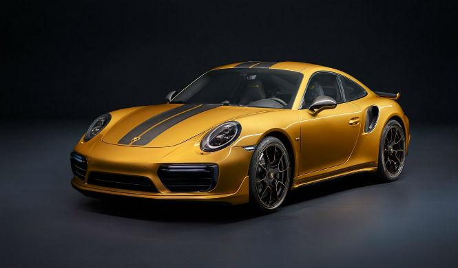 El Porsche 911 Turbo S Exclusive Series sube a los 607 CV