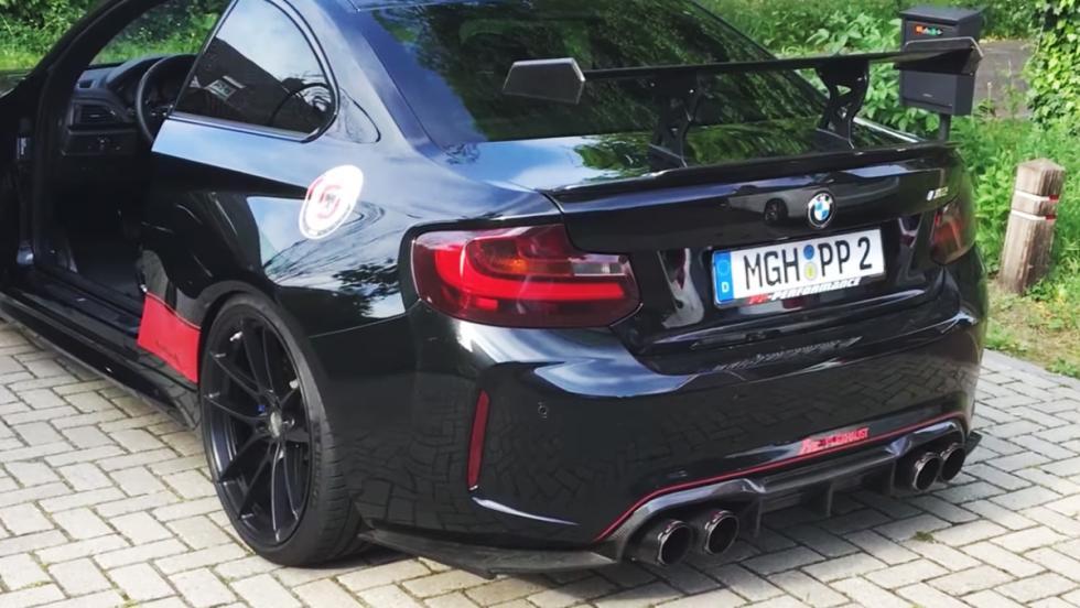 Así suena un BMW M2 con 450 CV y escape tocado