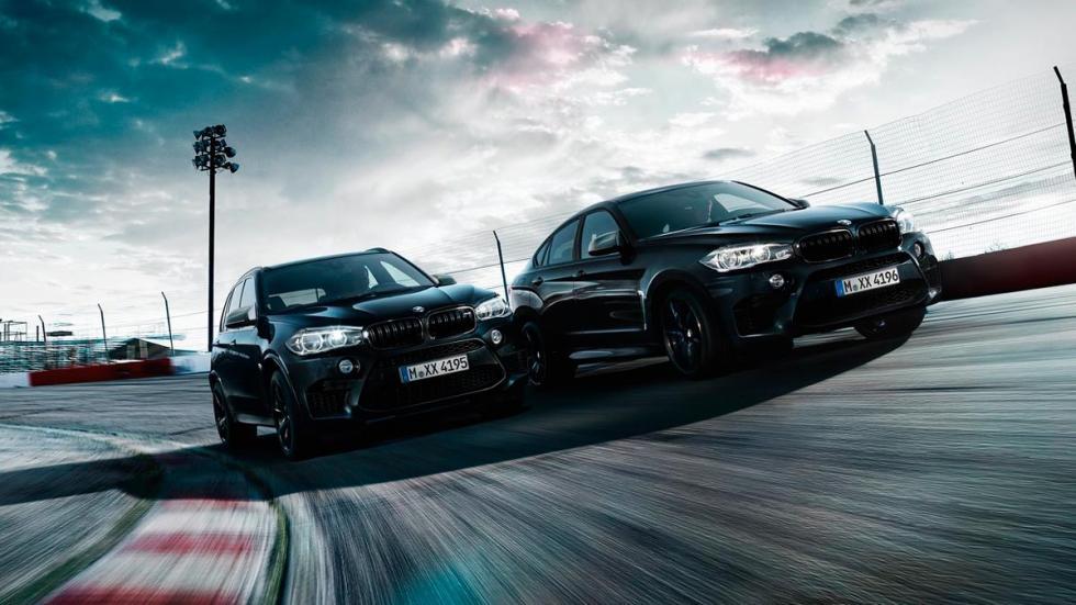 BMW X5M X6M Black Fire Edition SUV deportivo lujo