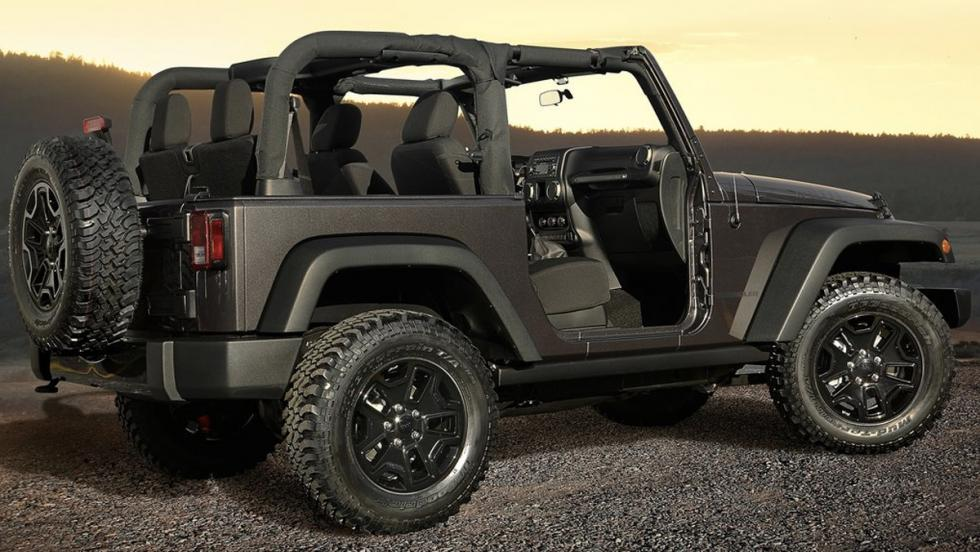 Coches gayfriendly: Jeep Wrangler