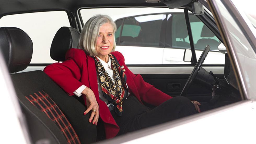 Gunhild Liljequist, la creadora de la tapicería tartán del Golf GTI