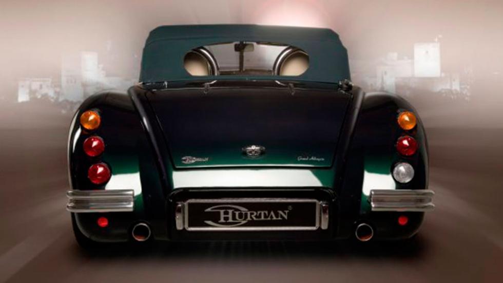 Hurtan Albaycin descapotable lujo deportivo