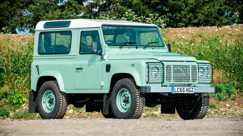 Land Rover Defender Heritage todoterreno clásico futuro