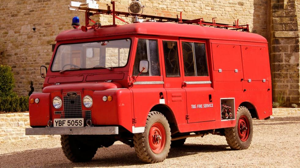 Land Rover Series IIA Forward bomberos