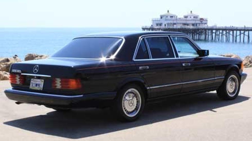 El Mercedes 500 SEL 1985, uno de sus favoritos