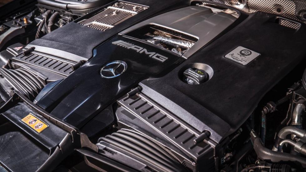Mercedes-AMG E63 S (motor)