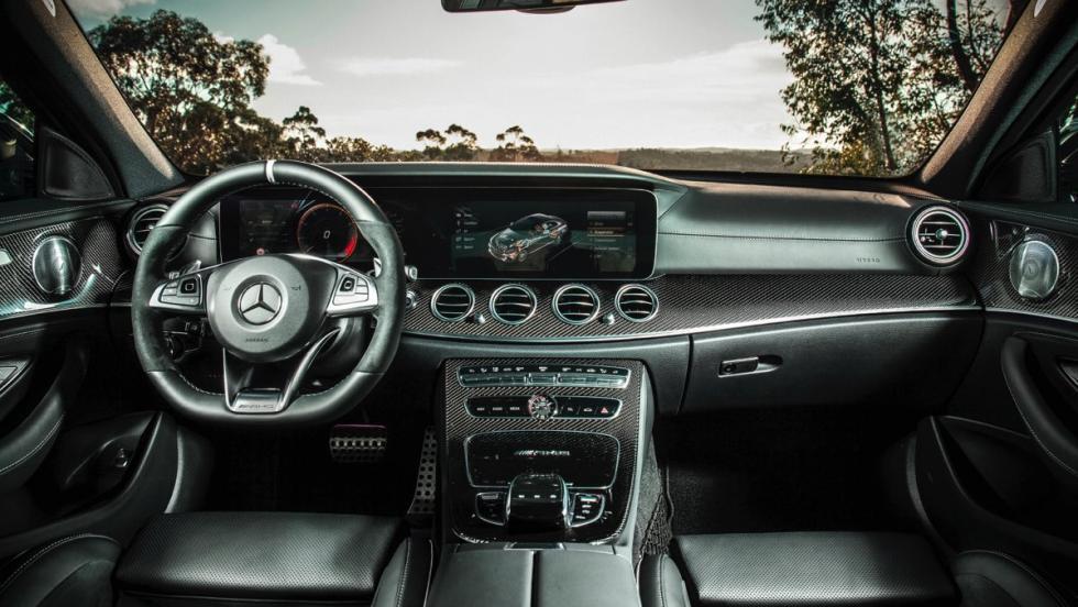 Mercedes-AMG E63 S (salpicadero)