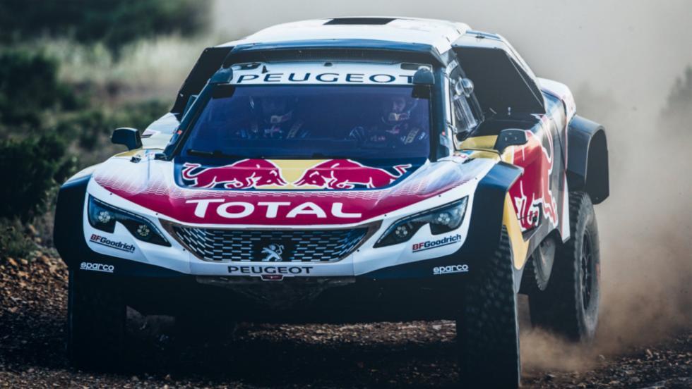 Peugeot 3008 DKR Maxi 2018