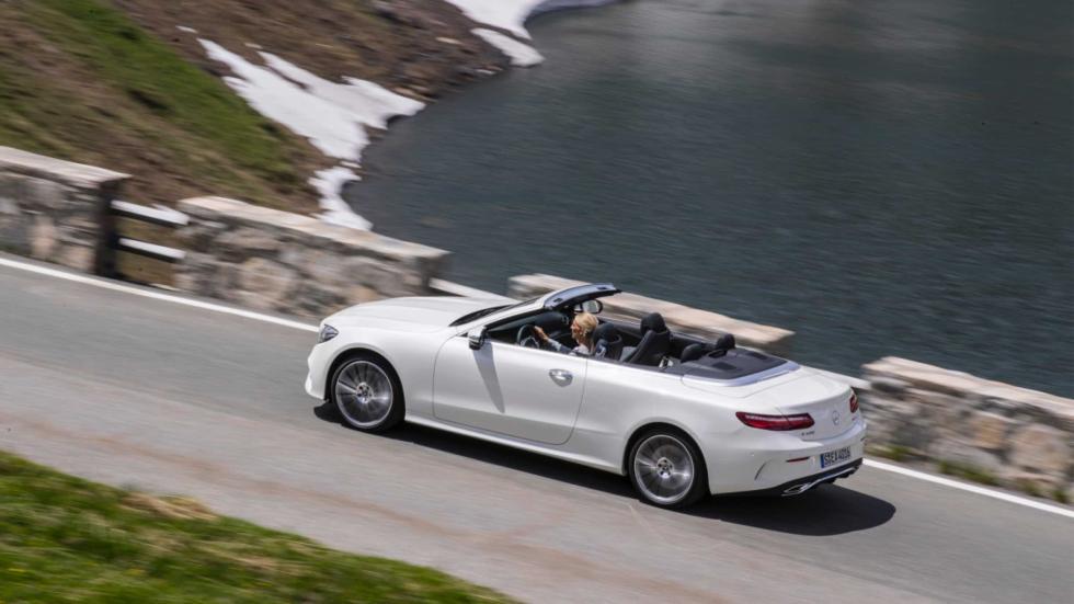 Prueba Mercedes Clase E Cabrio 2017 capota