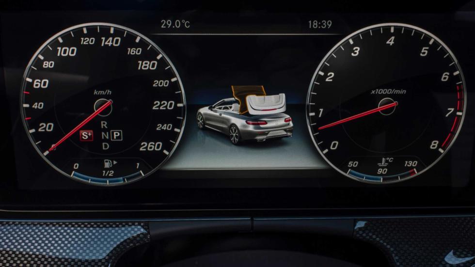 Prueba Mercedes Clase E Cabrio 2017 relojes