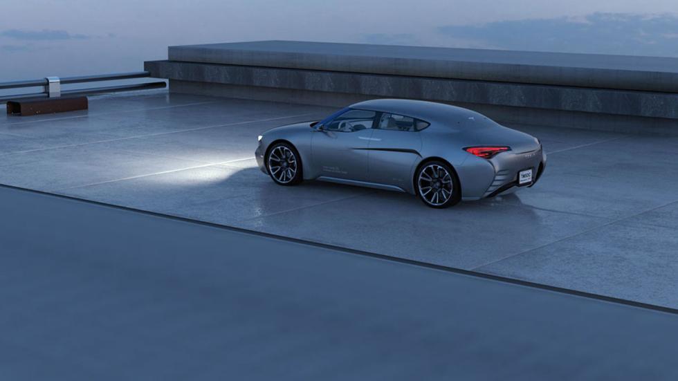 Tesla Model S render (2)