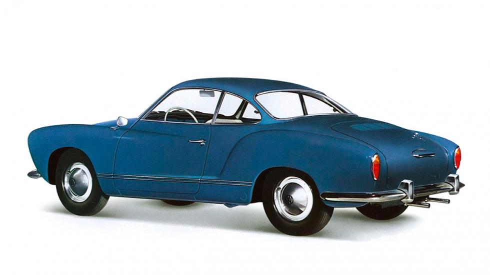 Volkswagen Karmann Ghia coupe clásico deportivo