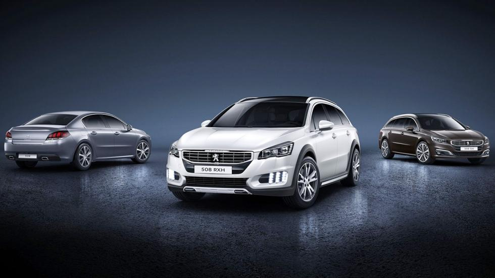 Las 5 claves fundamentales del Peugeot 508 - Se ofrece en tres carrocerías