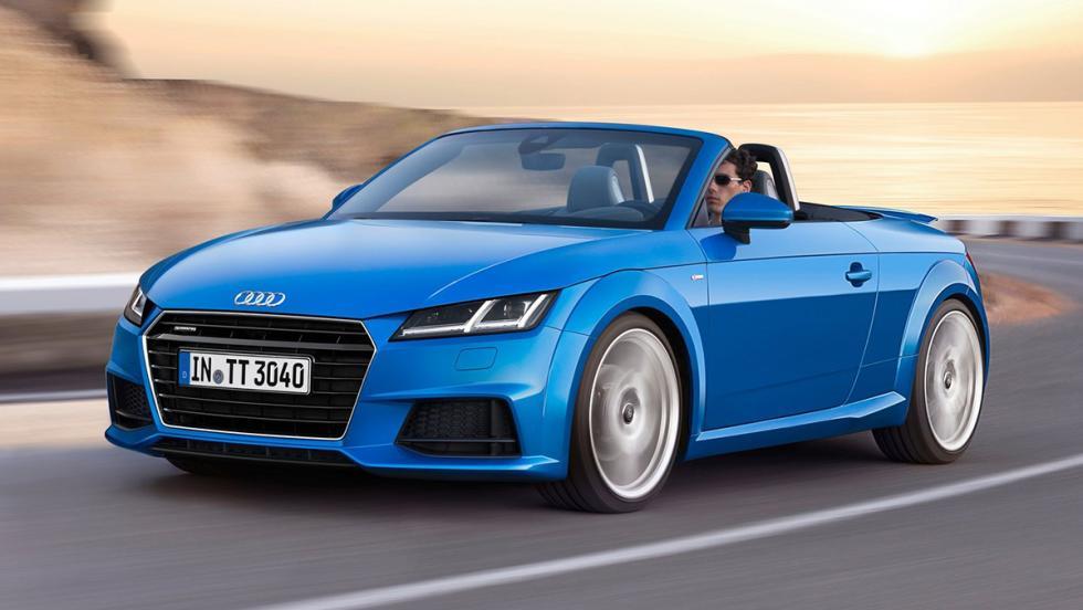 5 coches con menos par que el 911 GT2 RS a ralentí - Audi TT Roadster