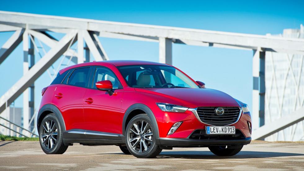 5 rivales del Mitsubishi ASX 2017 - Mazda CX-3