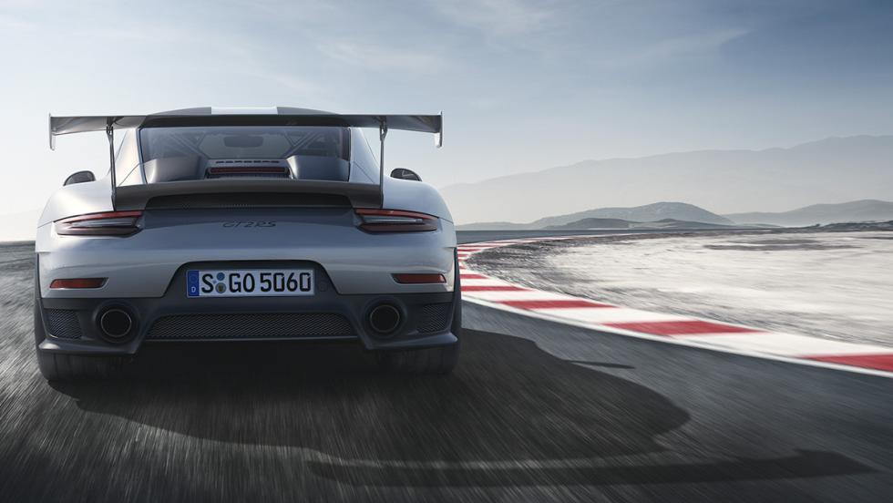 7 detalles que molan del 911 GT2 RS - Podría bajar de 7 minutos en Nürburgring