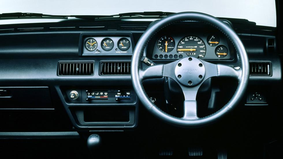 9 coches japoneses de los que nunca has oído hablar - Nissan March Super Turbo