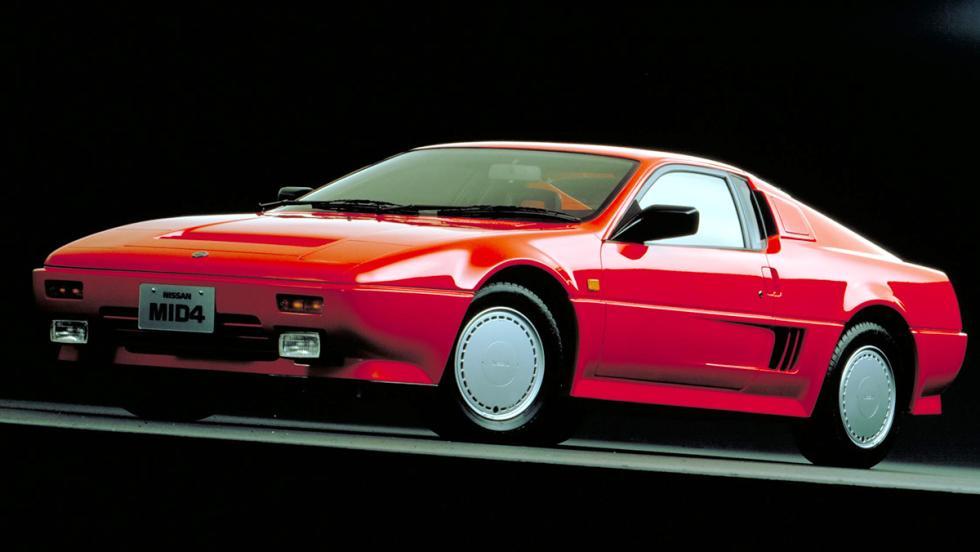 9 coches japoneses de los que nunca has oído hablar - Nissan Mid4