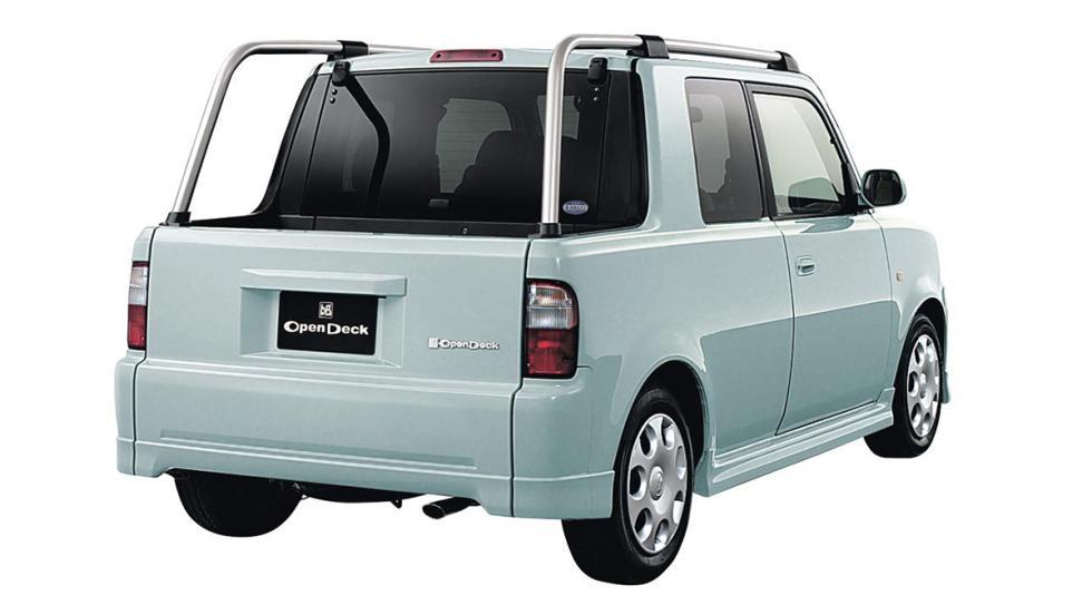 9 coches japoneses de los que nunca has oído hablar - Toyota bB Open Deck