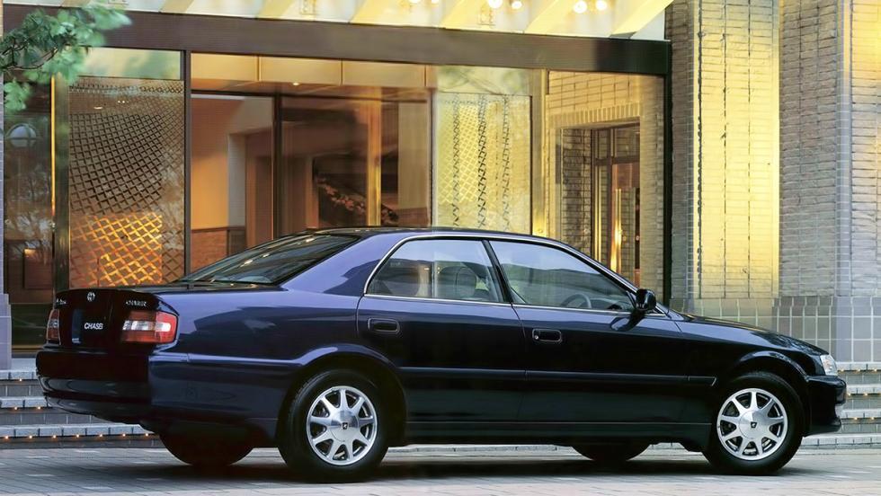 9 coches japoneses de los que nunca has oído hablar - Toyota Chaser